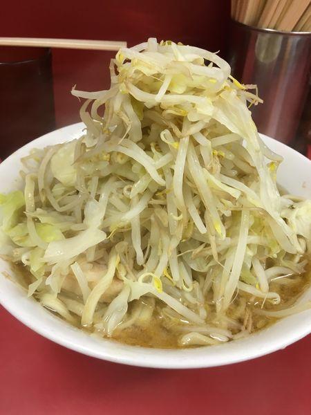 「小ラーメン(豚2枚)」@ラーメン二郎 ひばりヶ丘駅前店の写真