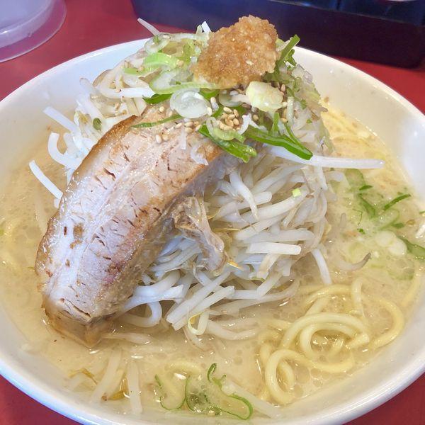 「バカ馬塩ラーメン(中 200g,ニンニク少なめ)」@らー麺 つけ麺 おぐりの写真