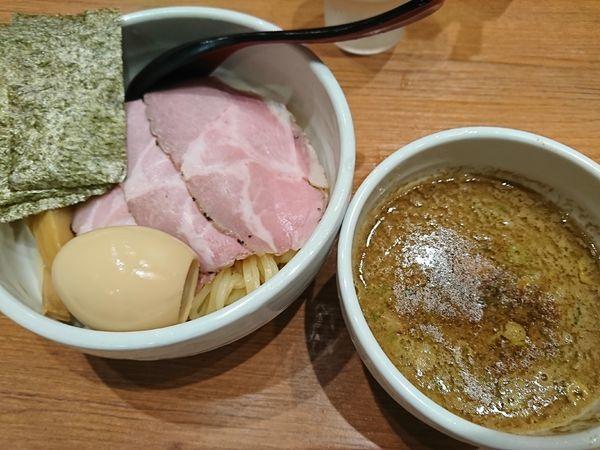 「特製つけ麺(1000円)」@煮干中華そば 鈴蘭 新宿店の写真