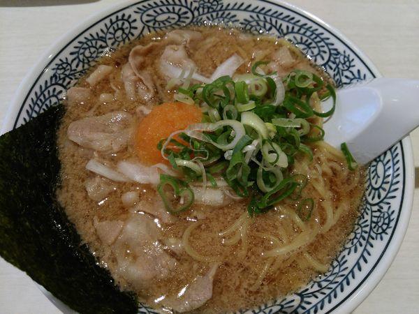 「熟成醤油肉そば」@丸源ラーメン 土浦店の写真
