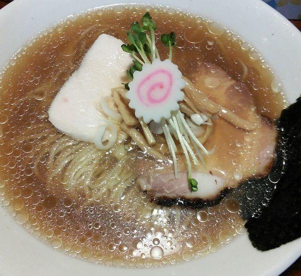 「【限定】冷やしラーメン(ミックス) 980円」@麺酒処 ふくろうの写真