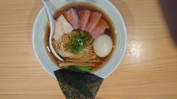 「特製らぁ麺醤油」@麺屋 さくら井の写真