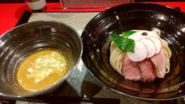 「つけめん」@江戸前つけ麺 銀座 魄瑛の写真