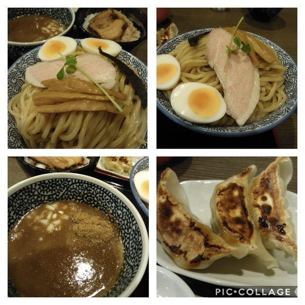 「【時間限定セット】つけ麺+ミニチャーシュー丼+餃子3個+特盛」@麺処 いぐさの写真