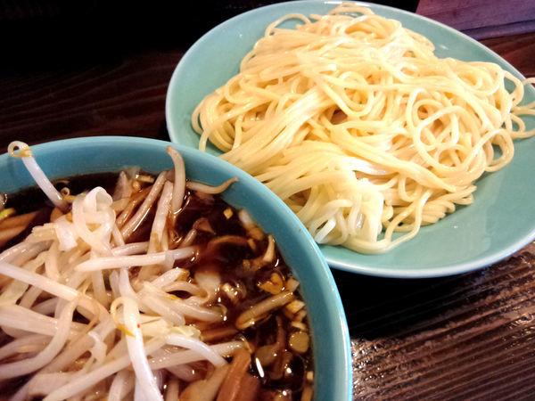「つけそば ¥700・野菜 ¥100」@つけそば 麺吉の写真