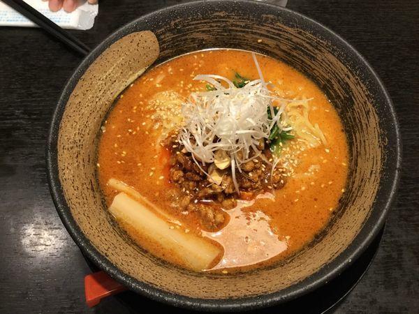 「担々麺 ¥780」@来楽軒の写真