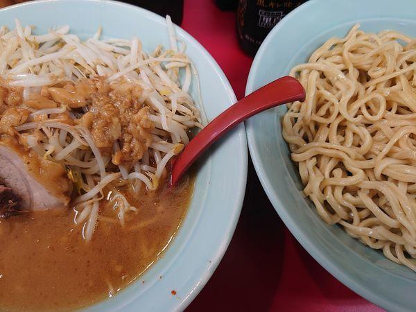 「つけ麺 中盛(麺300g)」@立川マシマシ 足利総本店の写真
