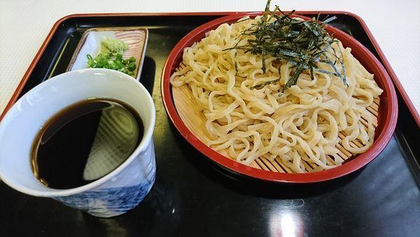 「里いも麺のざる中華 700円」@冨士屋食堂の写真