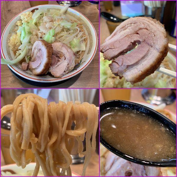 「小ラーメン¥780(麺硬め・ニンニク・アブラ)」@ラーメン豚山 元住吉店の写真