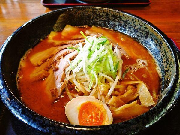 「もっけい味噌+チャーシュー」@麺場 もっけいの写真