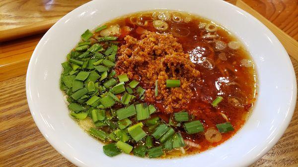 「台湾ラーメン850円+トムヤム和え玉270円」@麺's キッチン RIRIの写真