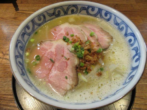 「バリシオラーメン(800円)」@らー麺屋 バリバリジョニーの写真