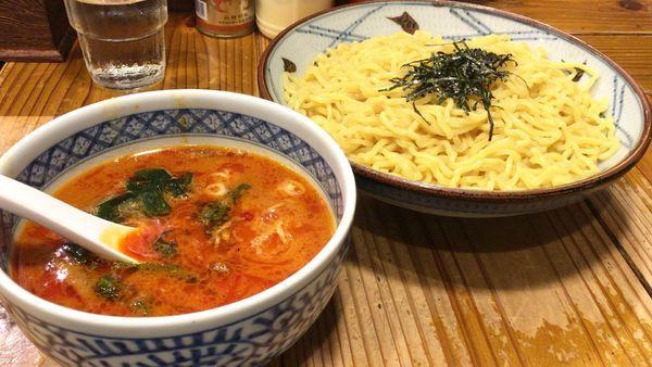 「つけ麺(辛味)」@北海道らーめん きむら初代の写真