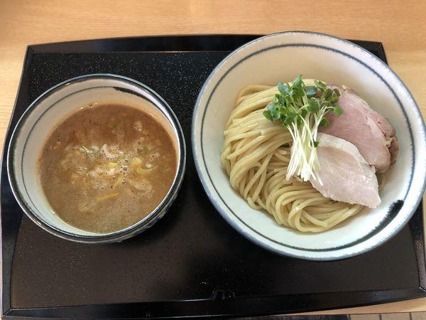 「鶏魚介つけ麺 大盛り」@つけ麺 いな月の写真