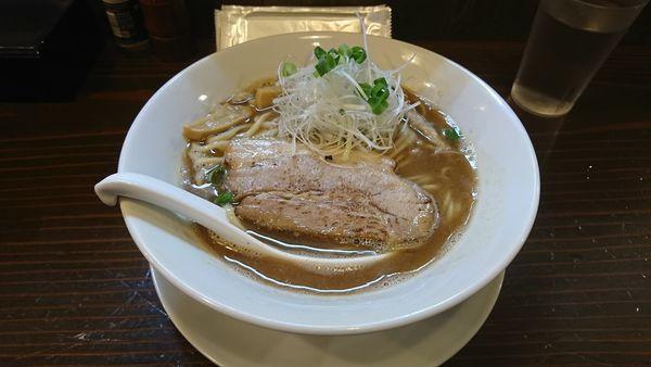 「カツオ鳥白湯」@麺屋 風月の写真