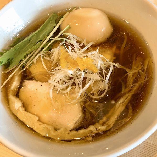 「味玉醤油ラーメン ¥870」@麺屋 Kの写真