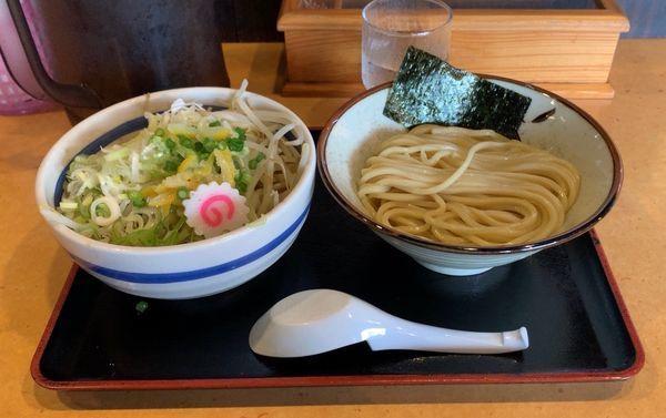 「野菜つけ麺」@常勝軒 千葉本店の写真
