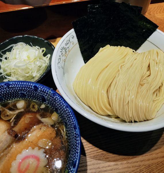 「特製清湯つけそば、ねぎ」@神田 勝本の写真