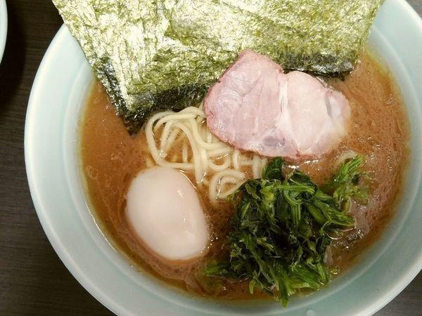 「のりらーめん+味玉」@横浜家系らーめん 五十三家の写真
