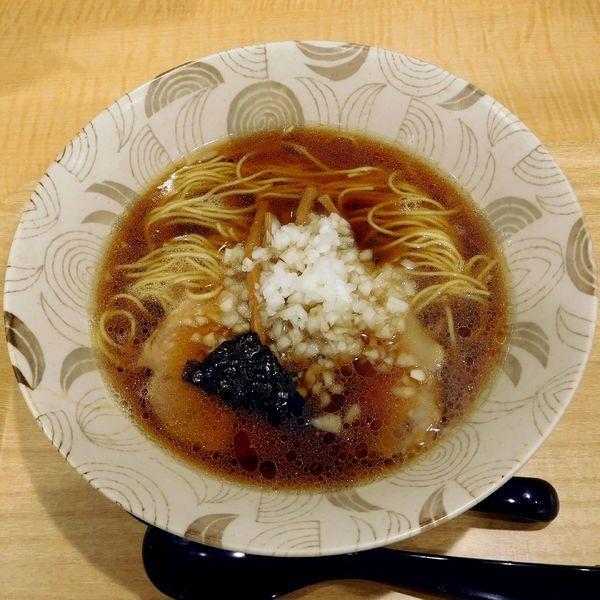 「らーめん 並(600円)」@中華そば つけ麺 音七の写真
