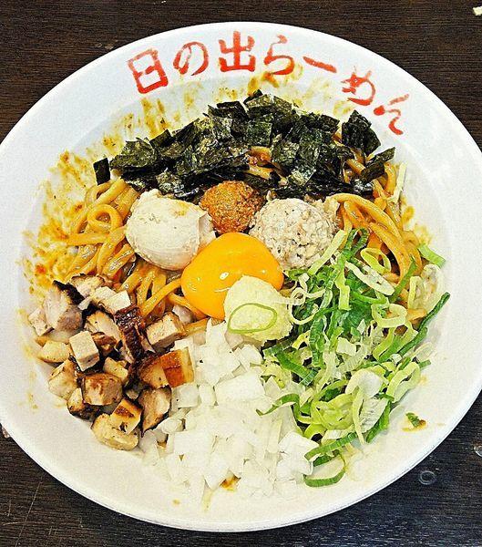 「辛ガッツ麺 860円」@日の出らーめん 横浜桜木町本店の写真
