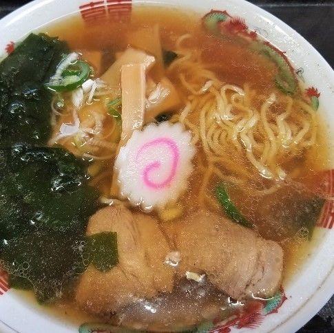 「ラーメン ¥520」@おたふく食堂の写真