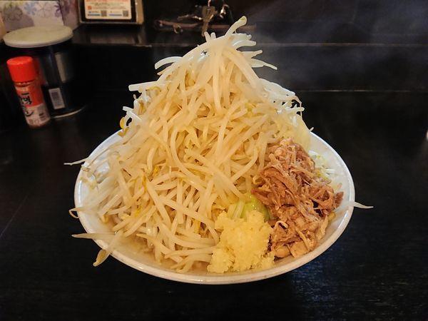 「らーめん 730円(野菜まし)」@麺とび六方 茅野店の写真