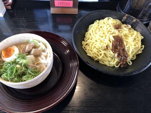 「たれ味噌つけ麺(大盛り)」@ハルピン味噌らーめん 雷蔵の写真