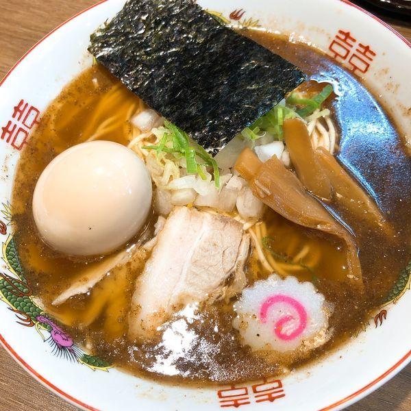 「支那そば ¥700+味玉 ¥100」@アントキのラーメン屋の写真