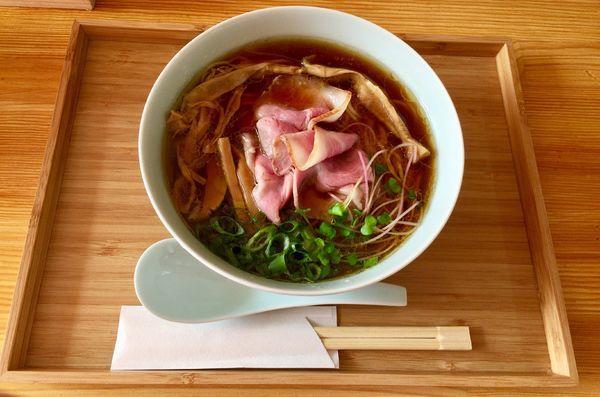 「醤油そば」@自家製麺と定食 弦乃月の写真