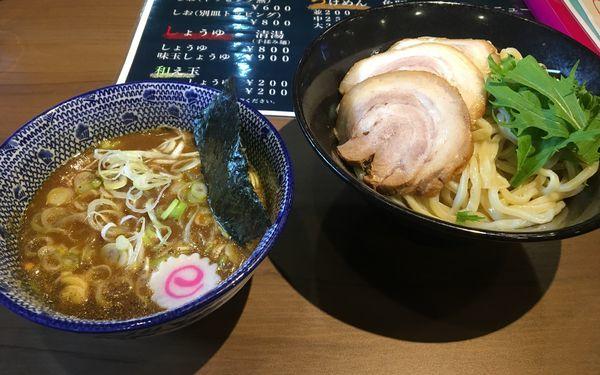 「つけ麺  中盛り 250g 800円」@RAMEN Wingの写真