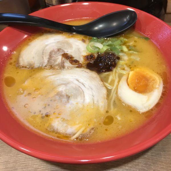 「えび豚骨塩拉麺(¥750)」@えびとんこつらーめん 希家 池上店の写真