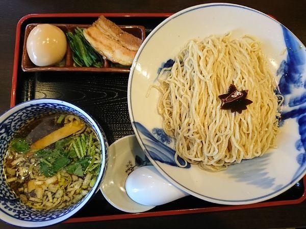 「特製つけそば(1000円)」@食煅 もみじの写真