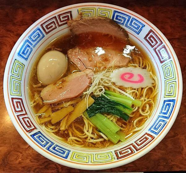 「阿波尾鶏ラーメン+半熟味玉」@つけ麺 目黒屋の写真
