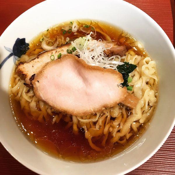 「醤油 手もみ麺」@麺 みつヰの写真