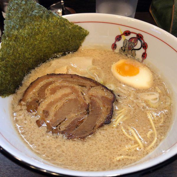 「醤油ラーメン(750円)」@麵屋 雷神の写真