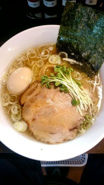 「塩らーめん   730円」@麺や まる喜の写真
