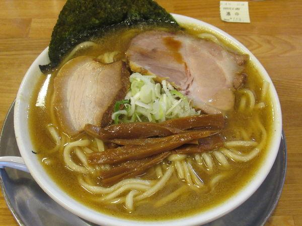 「濃厚豚鶏魚介ソバ(中)(700円)」@麺屋 らいぞうの写真