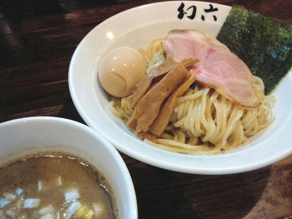 「濃厚煮干つけそば ¥850・味玉 ¥100」@中華そば 幻六の写真