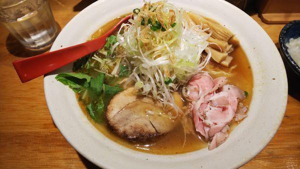 「焼きあご塩らー麺」@焼きあご塩らー麺 たかはしの写真