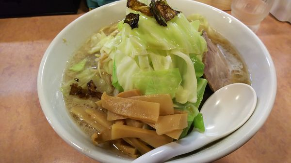 「キャベふじ麺『塩』大盛」@特級豚骨 中華そば湊生の写真