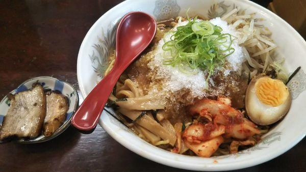 「冷やし麺」@ら~めん からしや 葛西本店の写真