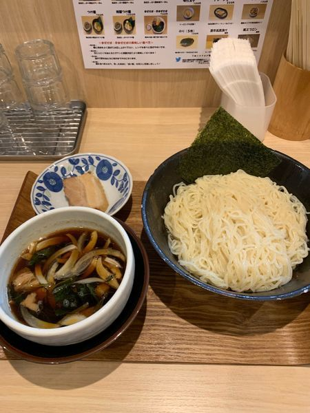 「限定 昆布水つけ麺大 850円」@麺処つむじの写真