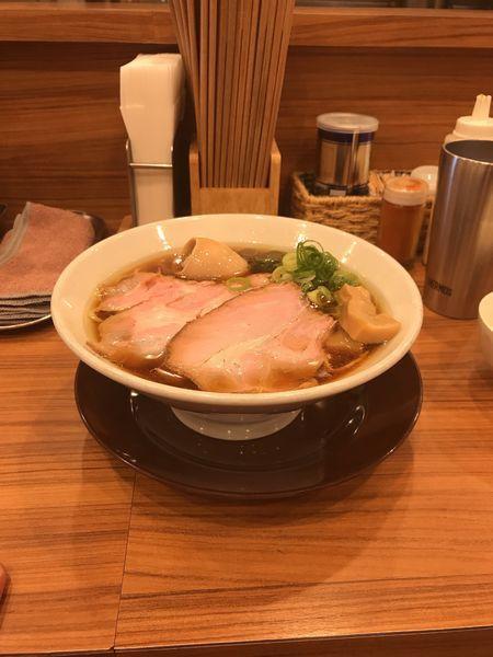 「鶏そば」@中華そば ココカラサキゑの写真