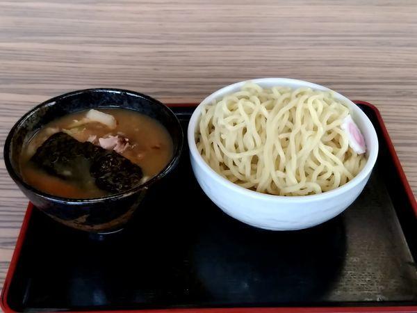 「濃厚魚介豚骨つけ麺(並盛・350g)788円」@ラーメン 吉勝軒の写真
