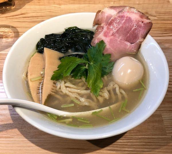 「味玉貝塩らーめん (¥900)」@らーめん 改の写真