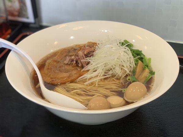 「【限定】淡麗烏賊煮干」@煮干しらーめん専門店 麺屋 晴の写真