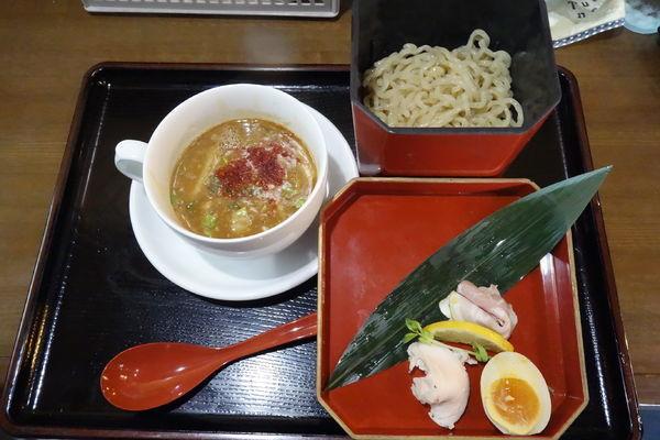 「あん胆つけ麺」@かみあり製麺の写真