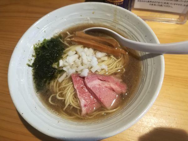 「煮干ラーメン」@麺屋 さくら井の写真
