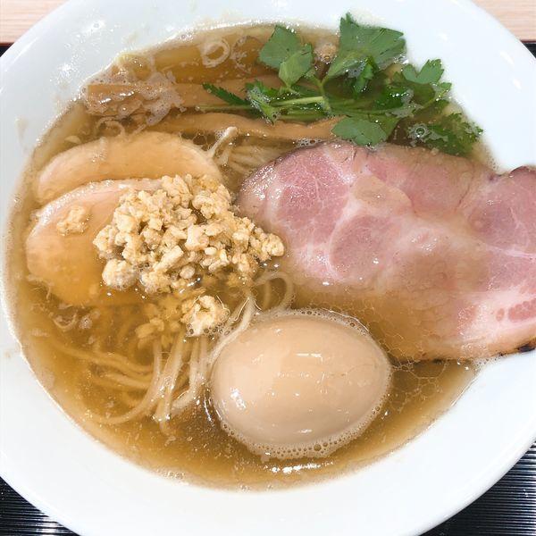 「中華そば ¥680+味玉 ¥100」@らーめん つけ麺 けのひの写真